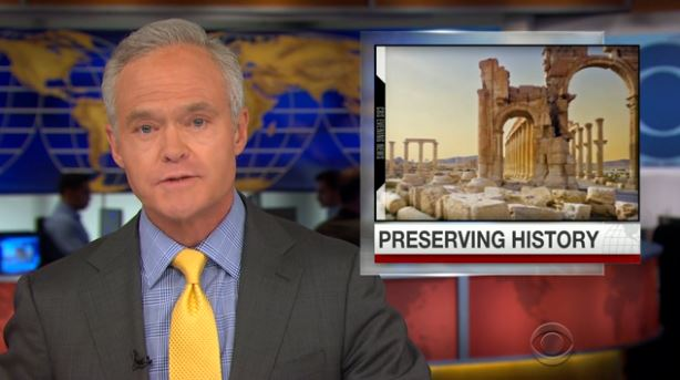 CBS Evening News Archaeology